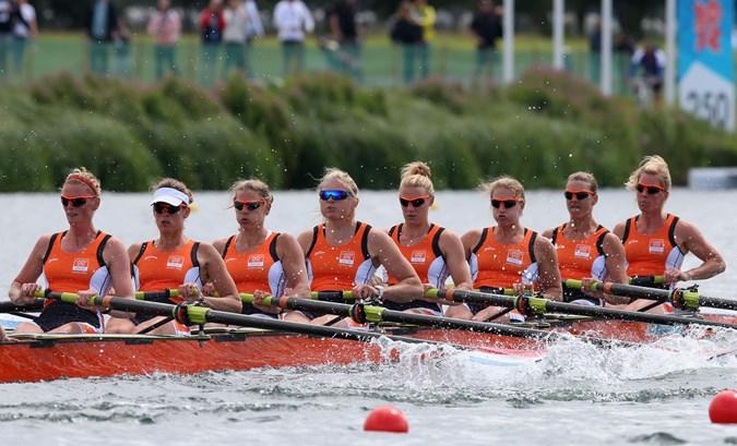 Brons en zeven finaleplaatsen roeiploeg op WB Luzern