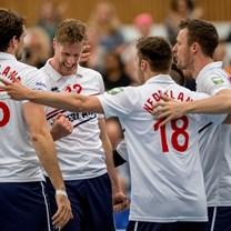 Golden European League volleybal (m): Nederland-Oekraïne