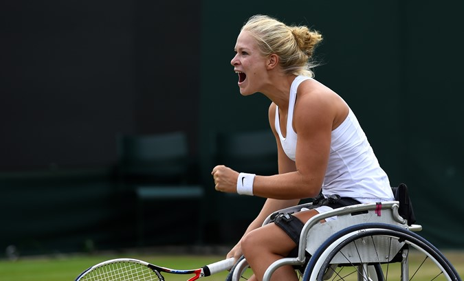 De Groot wederom de sterkste op Wimbledon