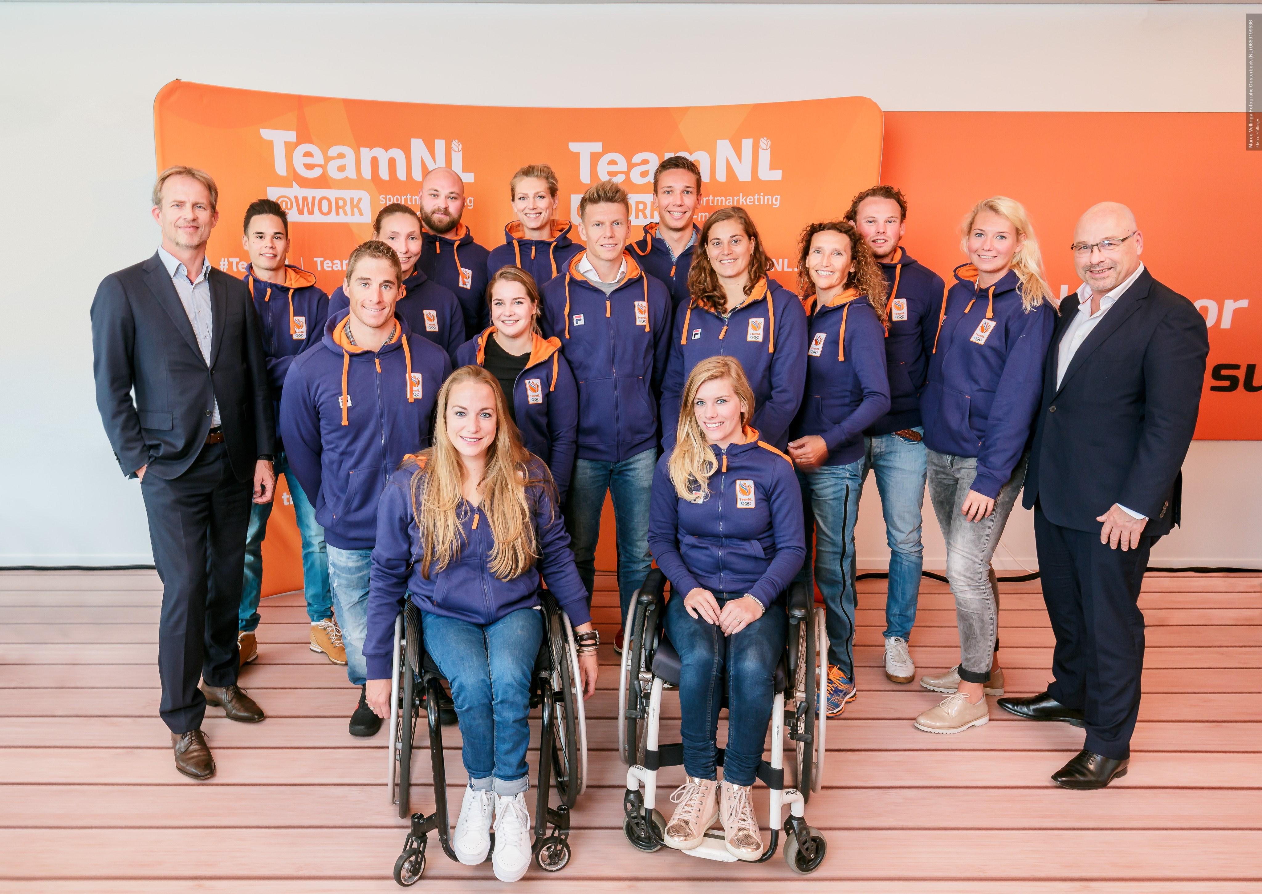 Sporters TeamNL@Work enthousiast van start