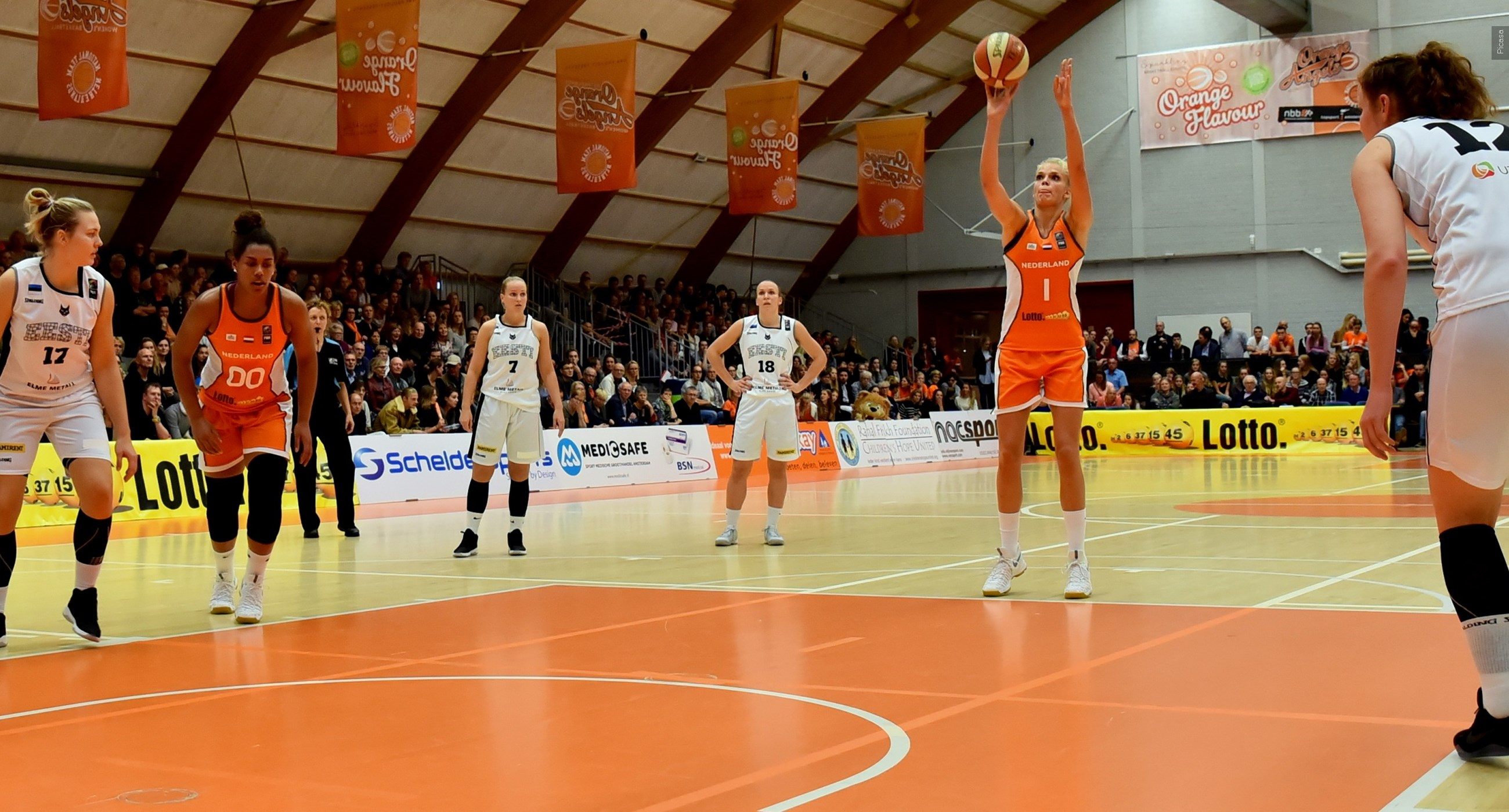 EK kwalificatie basketbal (v): Spanje-Nederland