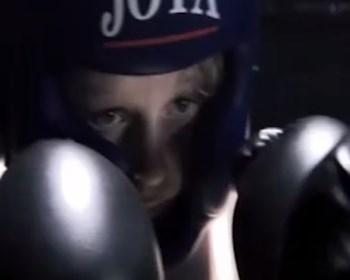Joey's eerste gevecht