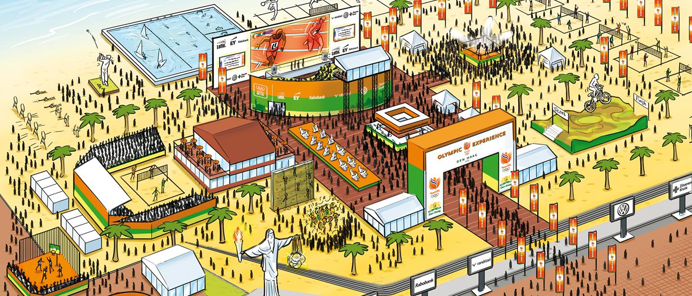 Beleef de Spelen van Rio 2016 op het sportstrand van Den Haag