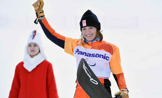 Bibian Mentel prolongeert paralympische titel
