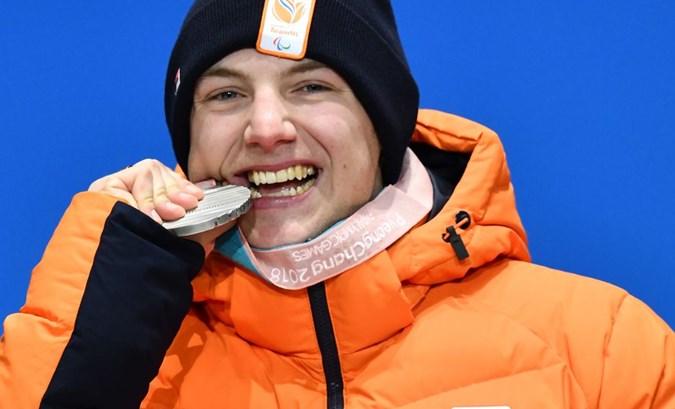 Paralympisch zilver voor Chris Vos op boardercross