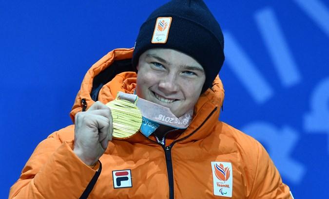 Kampschreur en Van Impelen gehuldigd op Medal Plaza
