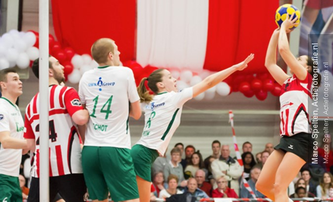 Lokhorst, Pasma en Preuninger bij TeamNL Korfbal