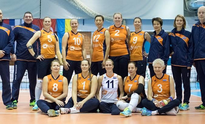 Prima start Nederlandse vrouwen op WK zitvolleybal