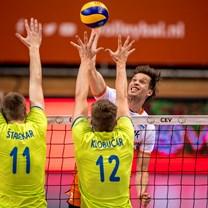 Golden European League volleybal (m): Turkije-Nederland