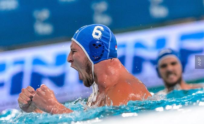 Waterpoloërs beginnen EK met ruime nederlaag tegen Kroatië