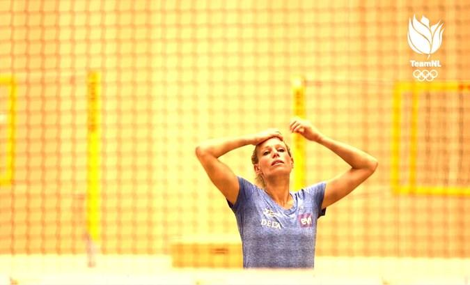 Sanne Keizer combineert moederschap met topsport