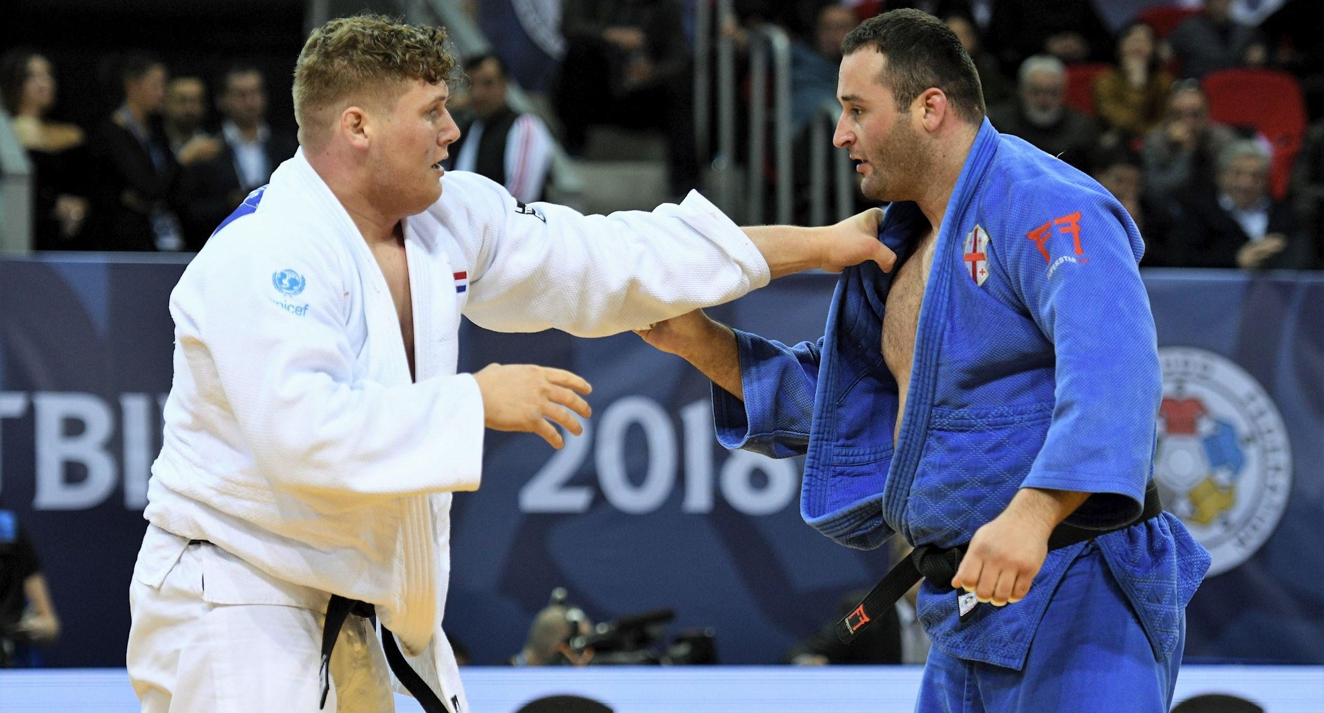 Mixteam haalt zilver op EK judo