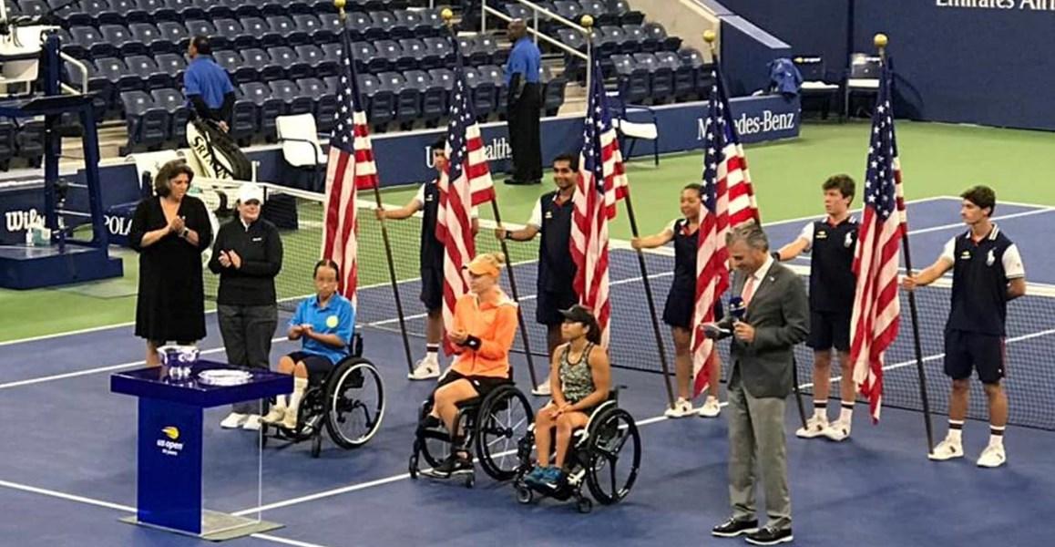 Diede de Groot niet te stoppen: Winnaar enkel en dubbelspel op de US Open