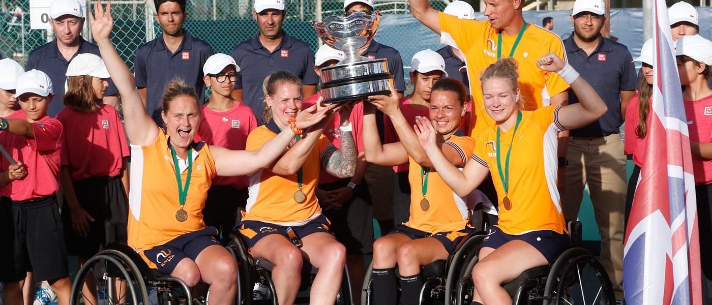 Nederlandse vrouwen winnen World Team Cup