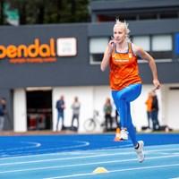 Sprintbelofte Marije van Hunenstijn gunt Dafne Schippers alles