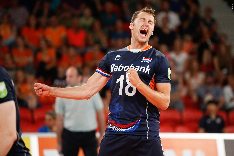 Robbert Andringa jaagt met volleybalmannen op olympische droom