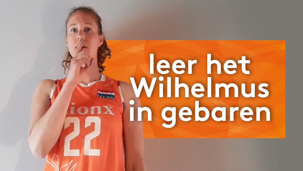Leer het Wilhelmus in gebarentaal
