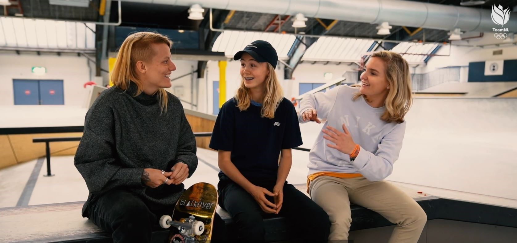 Het skate-statement van Candy, Roos en Keet
