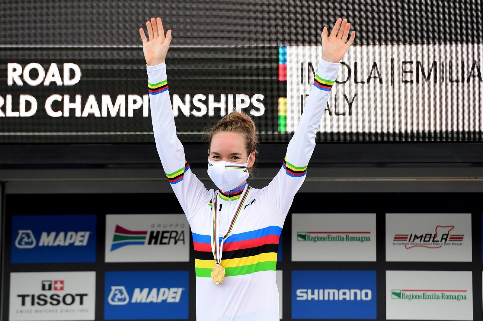 TeamNL-update week 39:  Anna van der Breggen verovert wereldtitel tijdrijden