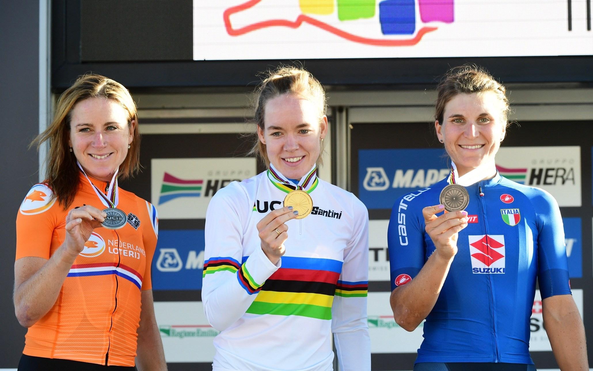 TeamNL-update:  Van der Breggen verovert tweede wereldtitel in Imola