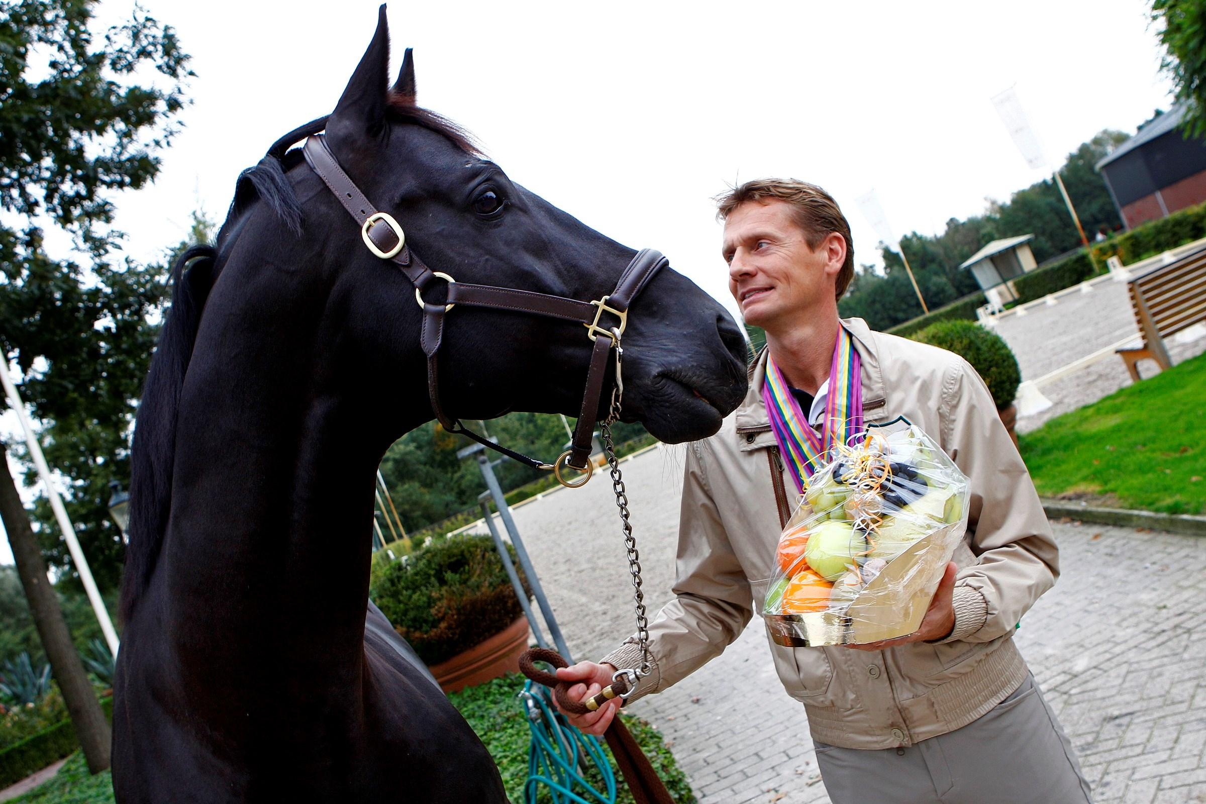 Edward Gal en het verkochte paard Totilas