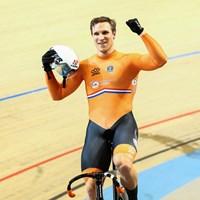 Hoe baanwielrenner Jeffrey Hoogland op z'n piek 84 kilometer per uur fietst