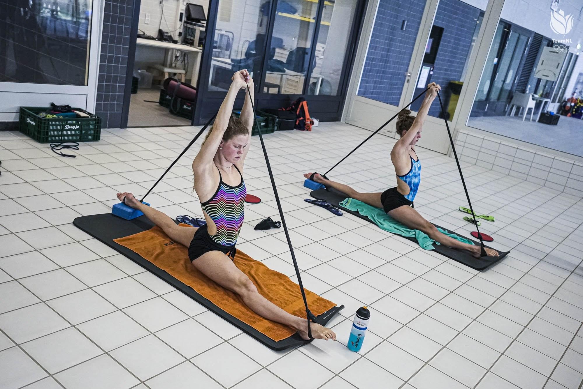 De 40 uur durende trainingsweek van Noortje en Bregje de Brouwer