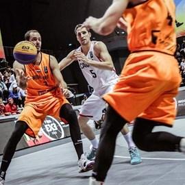 Basketbal Heren 3x3