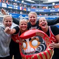 Beachvolleybalsters Katja Stam en Raïsa Schoon winnen play-off voor Tokyo 2020