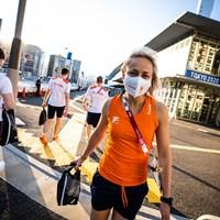 De reis naar Tokio en een kijkje in het olympisch dorp