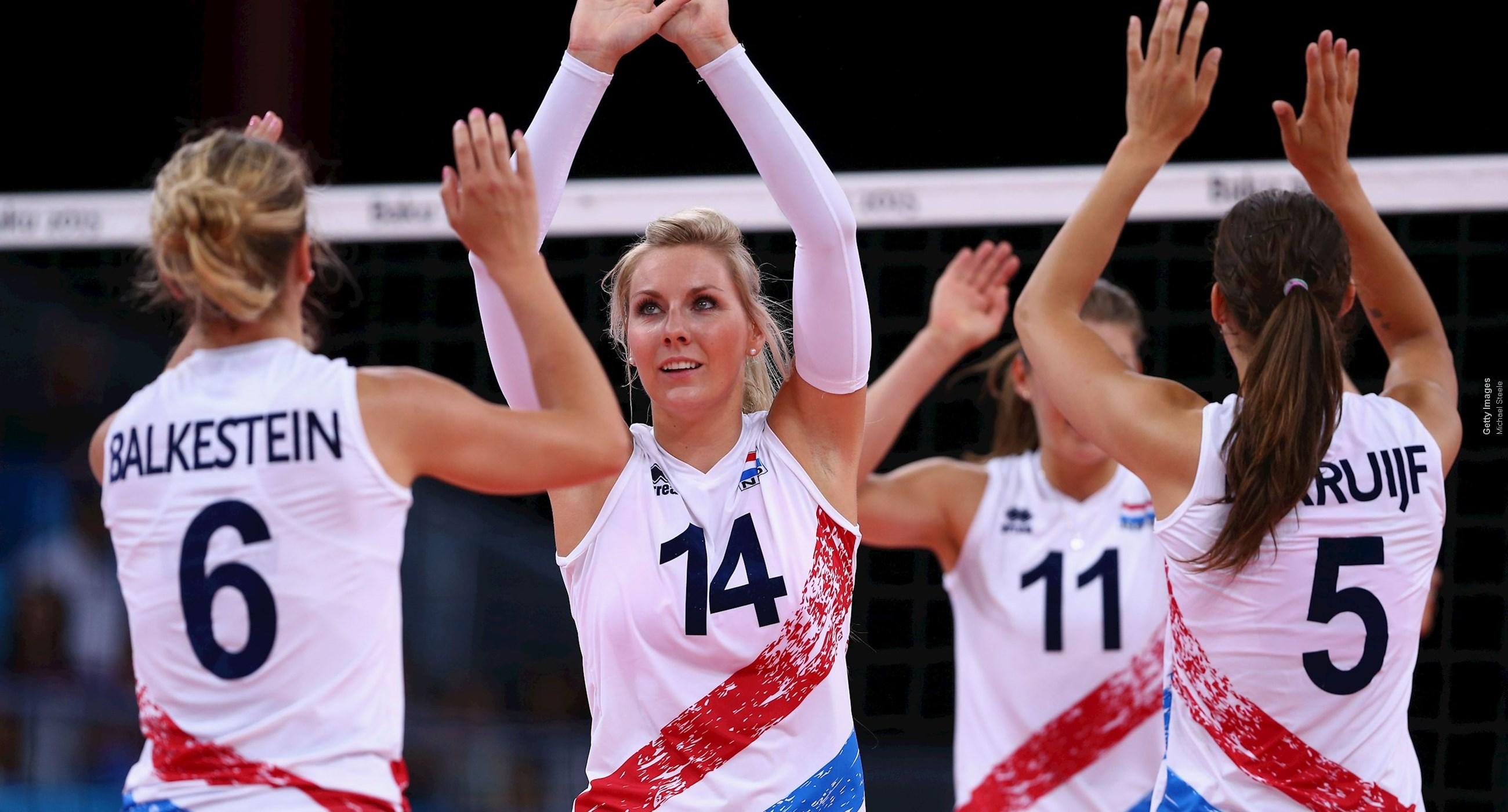 Nations League volleybal (v): Nederland-België