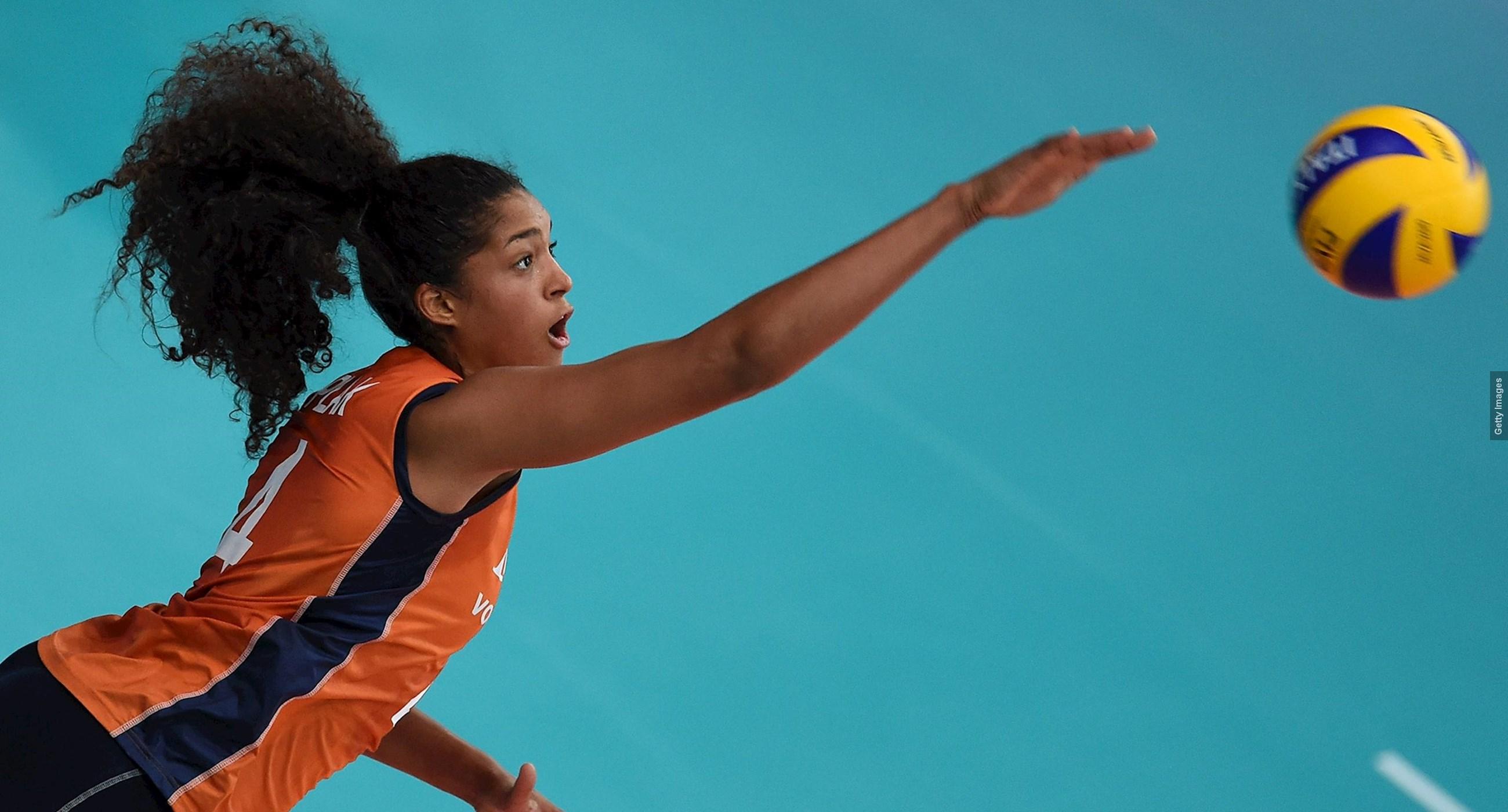 Nations League volleybal (v): Nederland-VS