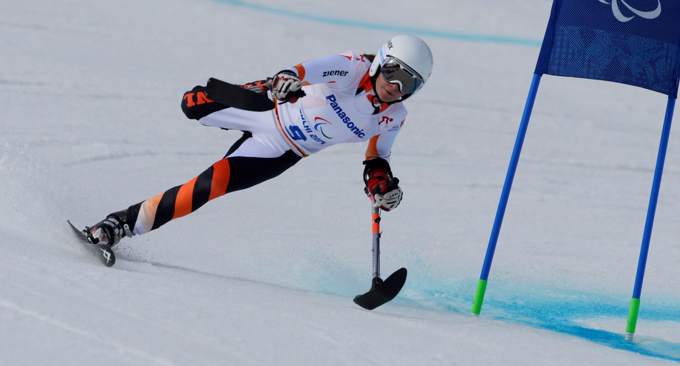 Zesde plaats voor para-skiester Jochemsen in Kühtai