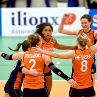 Volleybalsters verslaan België in Nations League