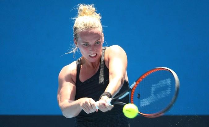 Hogenkamp gestrand op WTA-toernooi in Lugano