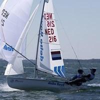 Zegers & Van Veen missen medalrace bij EK 470-zeilen