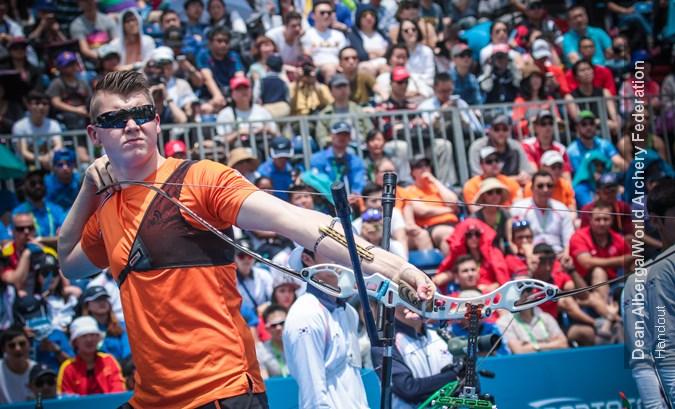 Van den Berg vijfde in recurve ranking round Antalya, Schloesser beste op compound