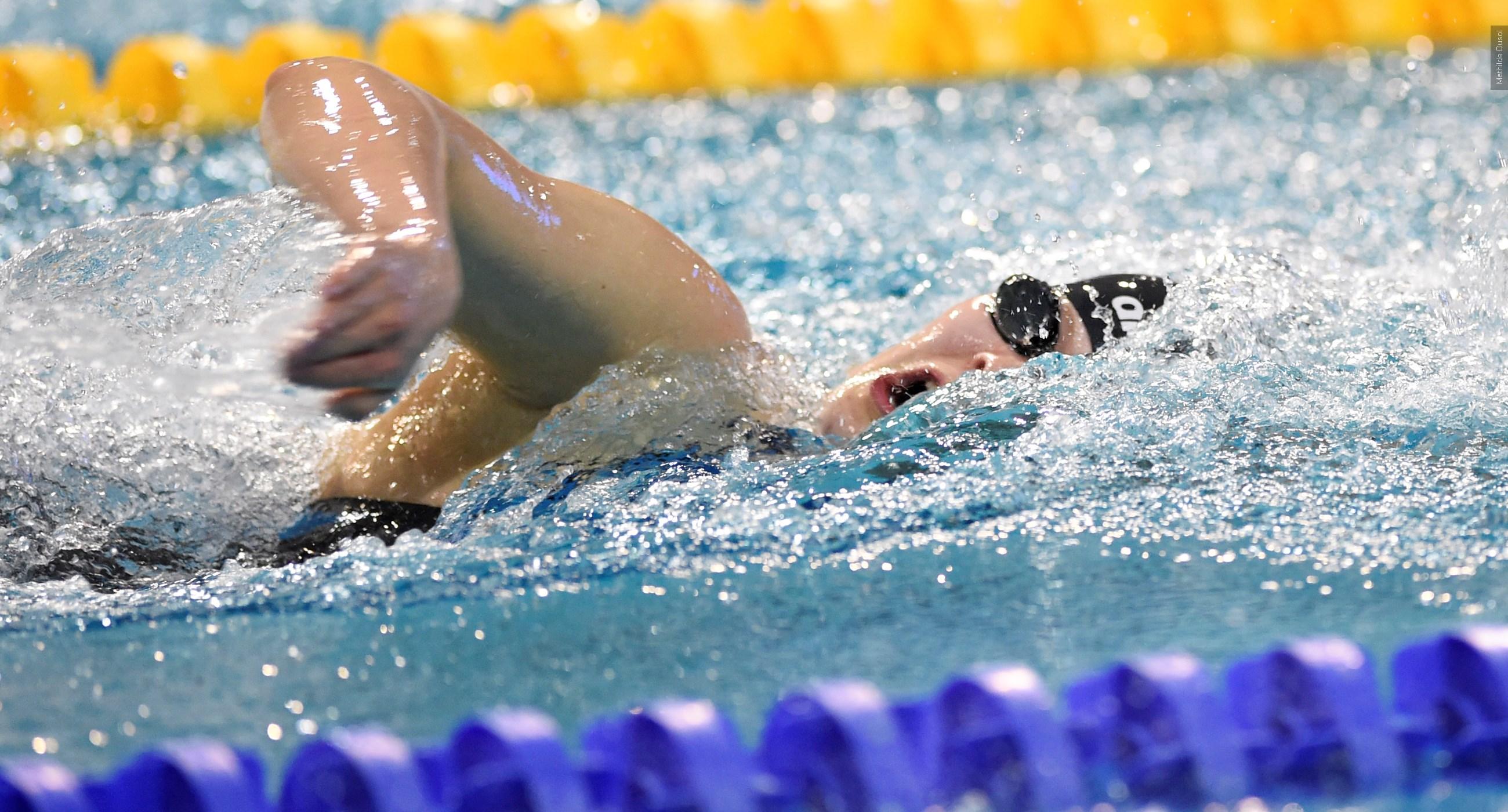 Liesette Bruinsma verbetert wereldrecord 50 meter vrij