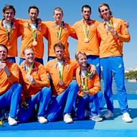 Bronzen medaille voor Holland Acht