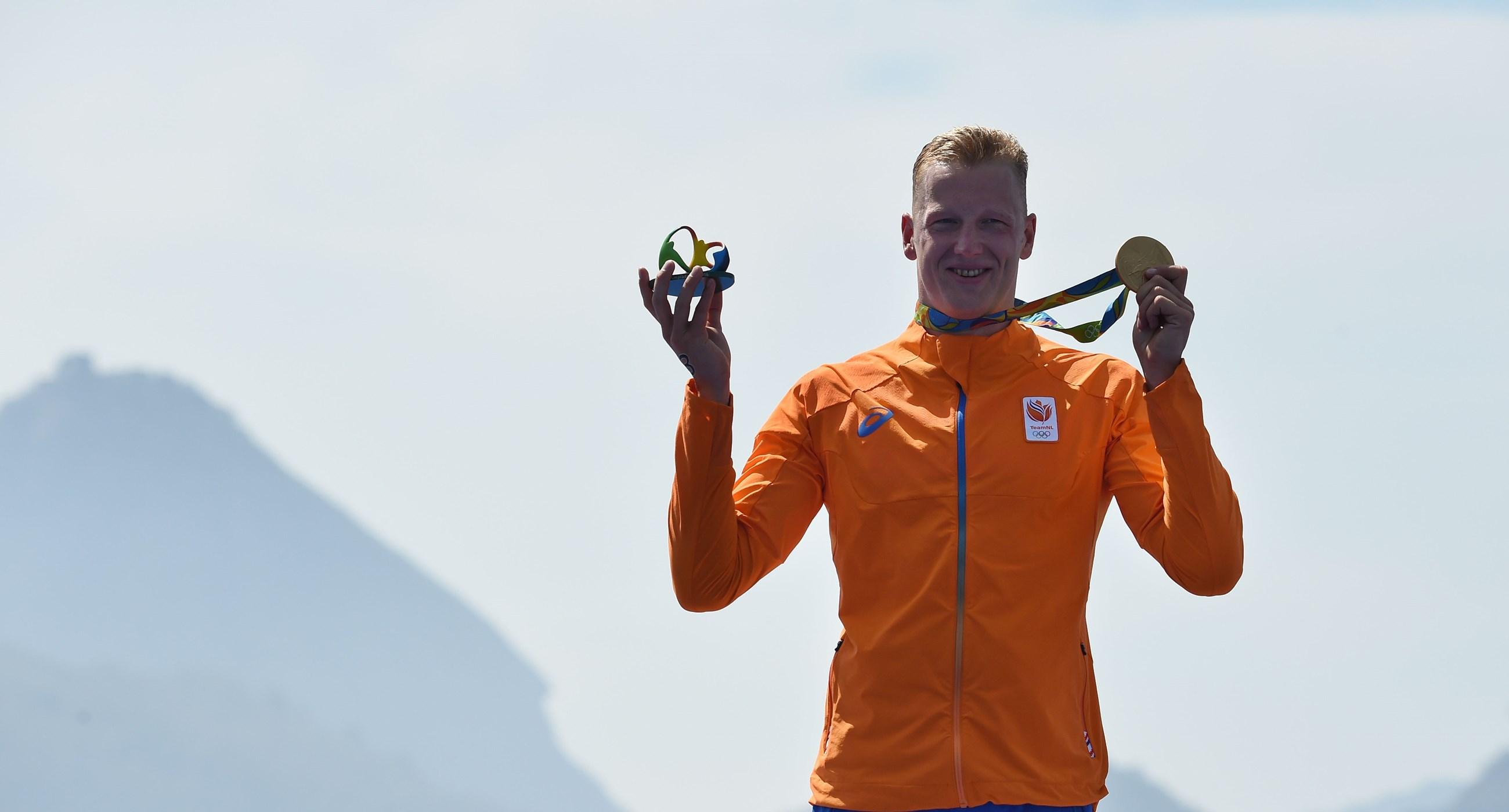 Video: de gouden Olympische race van Ferry Weertman