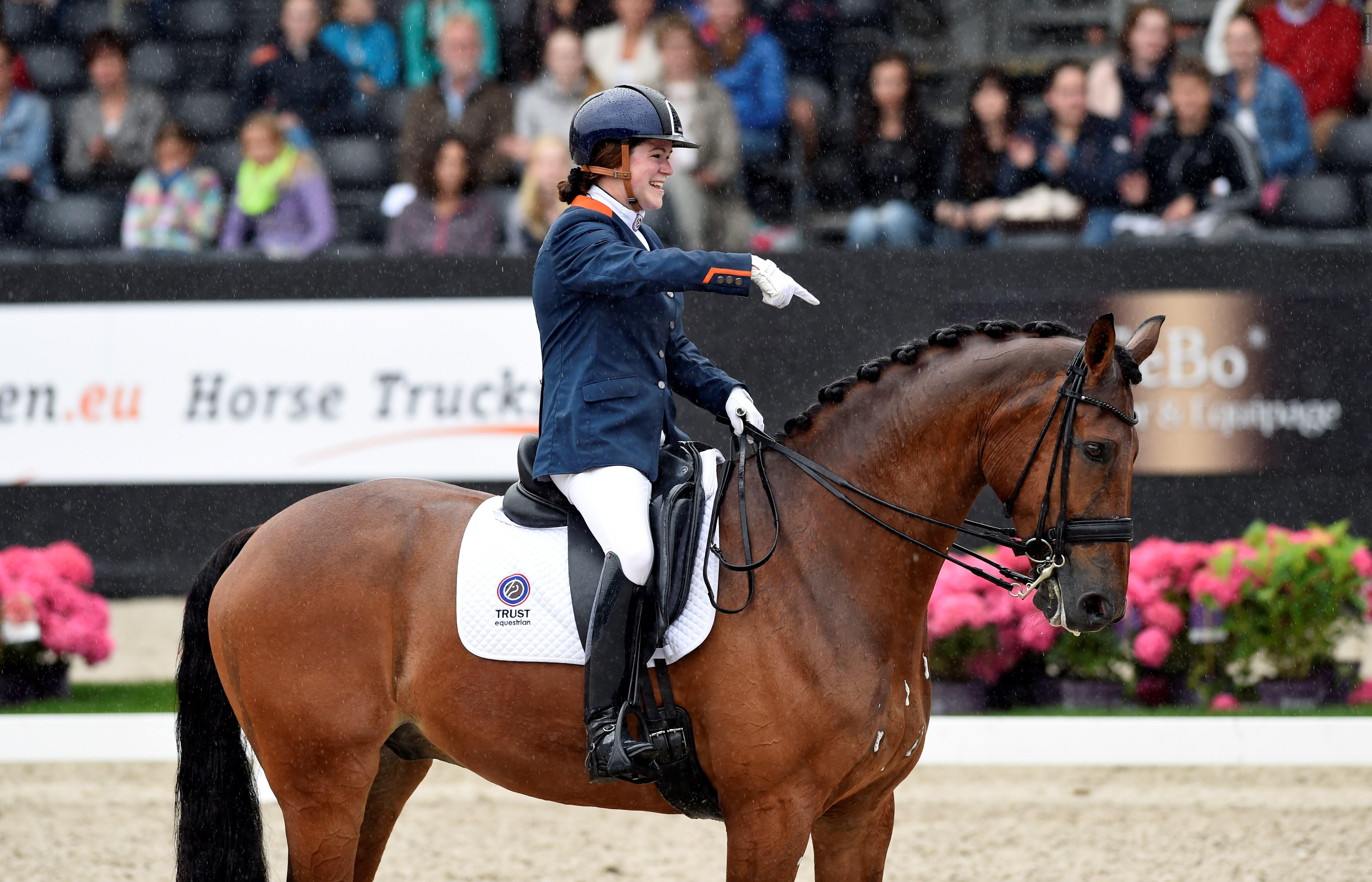 Goud in vrije kür voor Sanne Voets, tweede brons Frank Hosmar