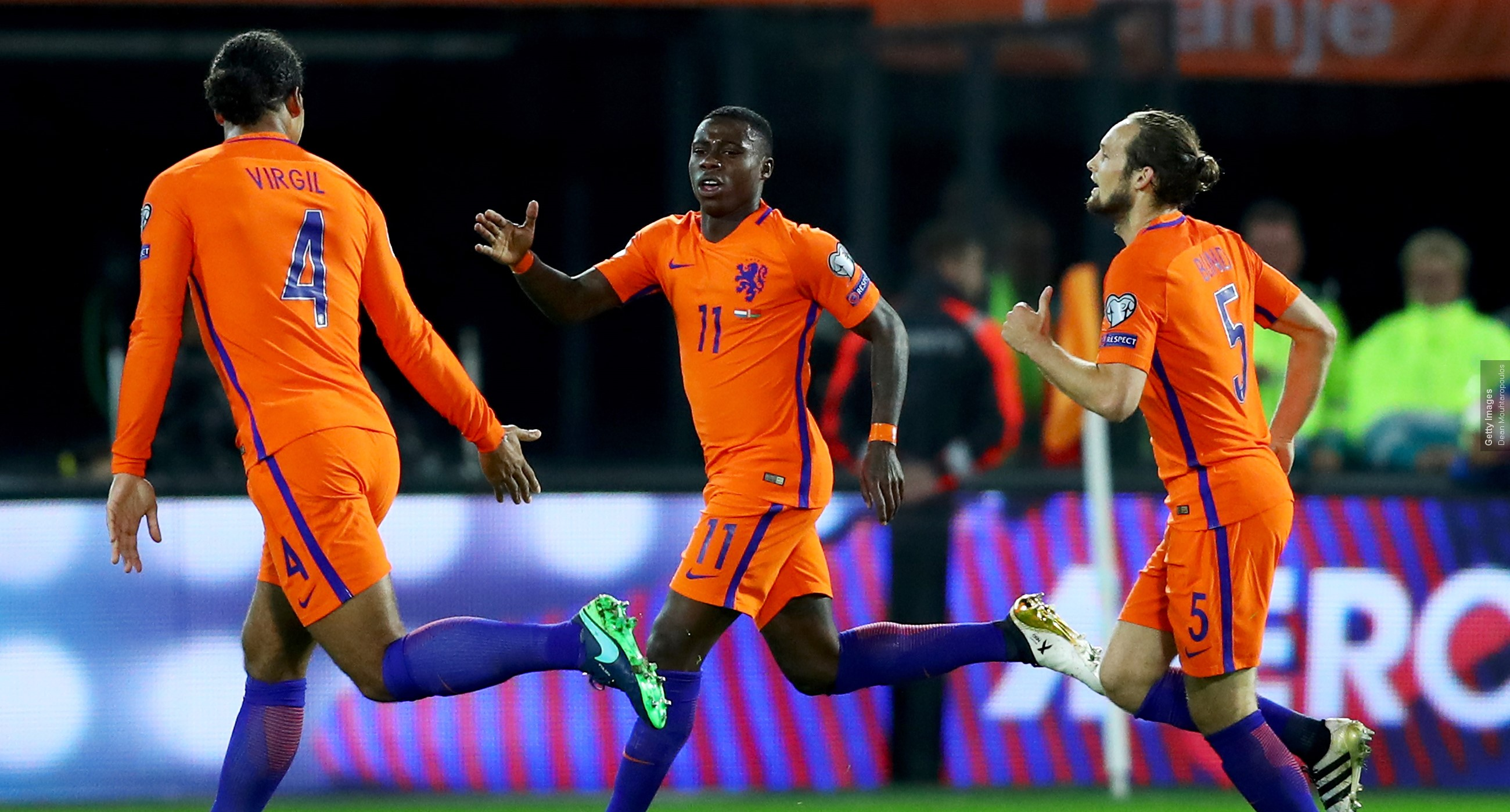 Voetbal: Nederland-Engeland