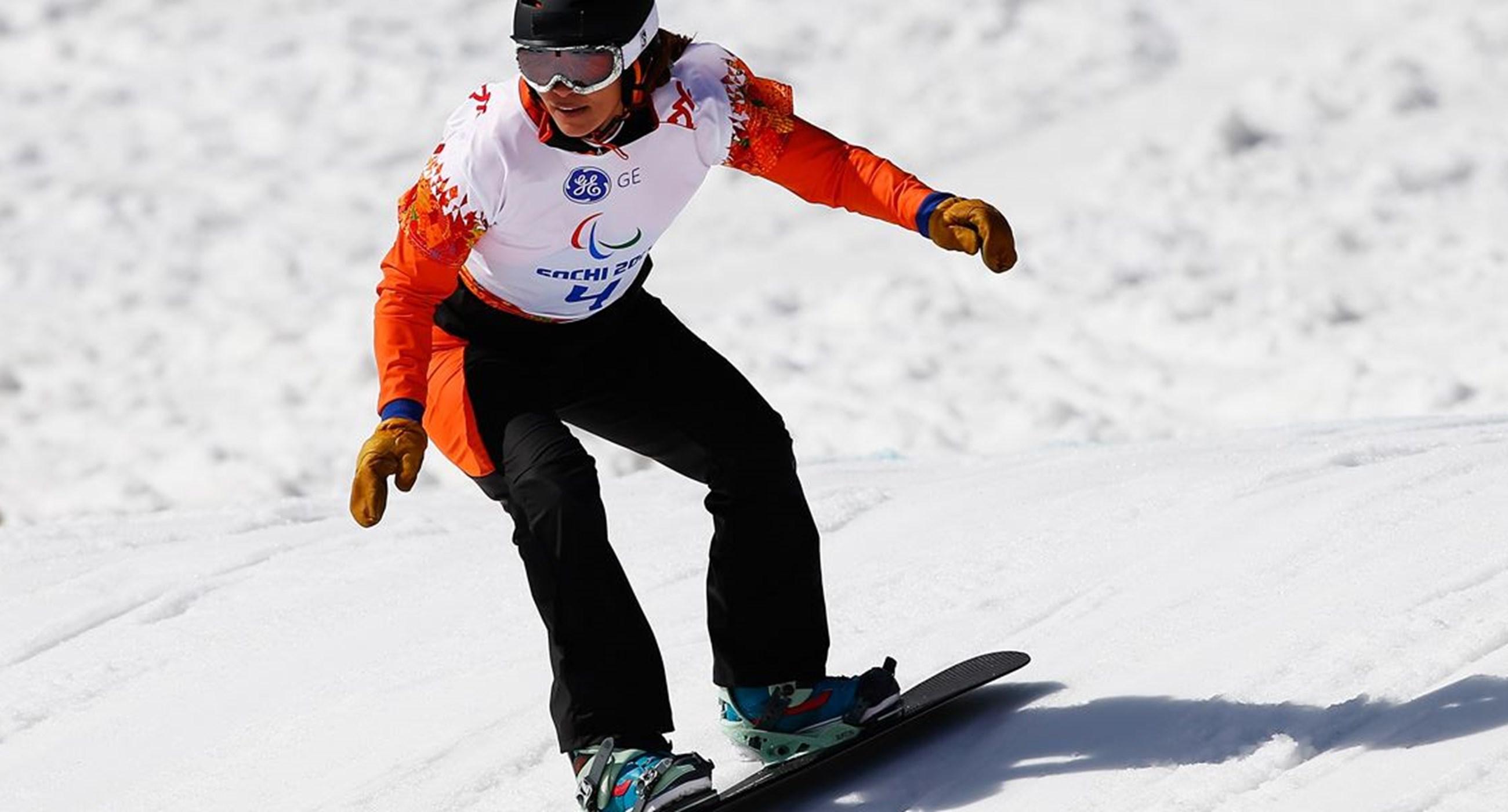 PyeongChang 2018: para-snowboarden, banked slalom